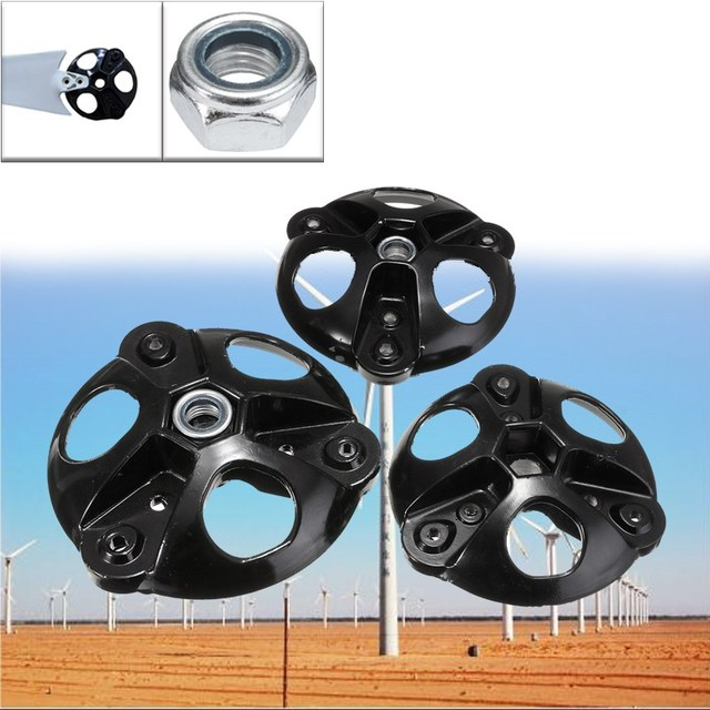 13.9-16.8cm S/M/M2 Wind Turbine Generator Thick Wheel Hub Accessorie High Grade Steel 3 Vanes Wheel Hub New 2018