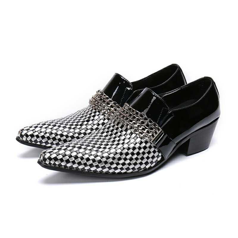 Zorssar Cm Oxford 6 Dedo Homens Moda Sapatos Patente Formal Apontado Cabeleireiro Preto Saltos Nova Para 2019 Couro Vestido qwxCnUSq