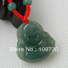 Genuino abierta luz de jade de Buda Maitreya Collar de modelos femeninos colgante de Una carga de aceite hd 0010