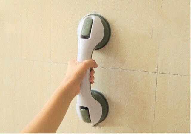 Grip Handle Bath Bathroom Suction Grab Bar Handrail Safety Shower