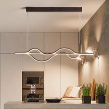 NEO Gleam luces Led colgantes para comedor, cocina, Bar, lámpara moderna a control remoto regulable de 1000mm y 37W de longitud