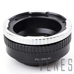 pixco For PL-E/M Adjustable Macro to Infinity Lens Adapter Suit For ARRI Arriflex PL Lens to Canon EOS M Camera M10 M3 M2 M1