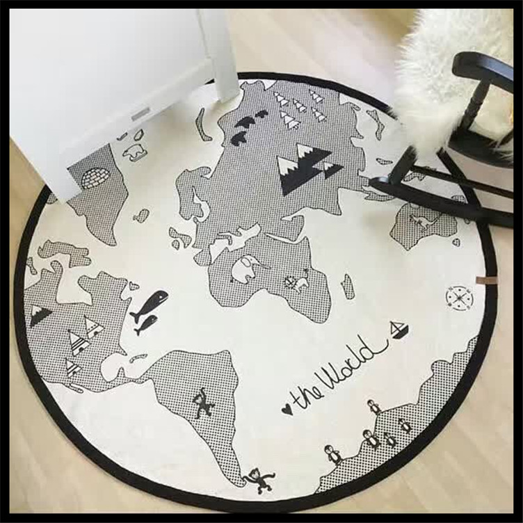 Baby birthday gift blanket wrap cotton soft baby blanket newborn the baby birthday gift blanket wrap cotton soft baby blanket newborn the world map print infantil bedding kids gifts 95cm in blanket swaddling from mother gumiabroncs Images