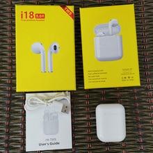 I18 наушники Оригинальные Bluetooth наушники стерео бас наушники шумоизоляция PK i9s i10 i12 tws i20 tws i30 tws
