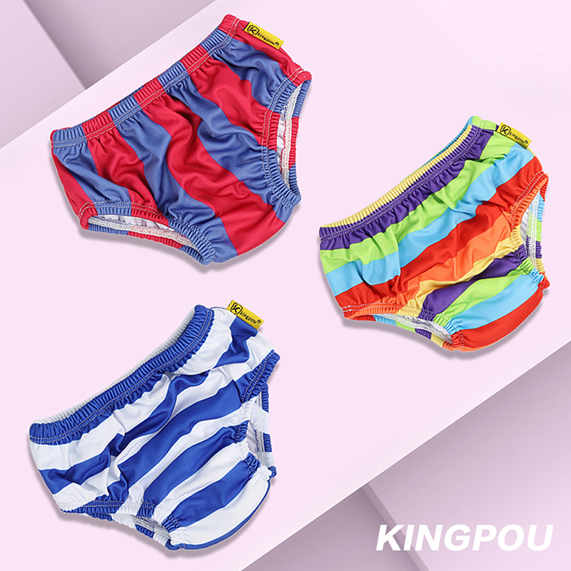 Baby Swimming Trunks Swimming Leak-proof Swimming Trunks Boys And Girls 0-1Years