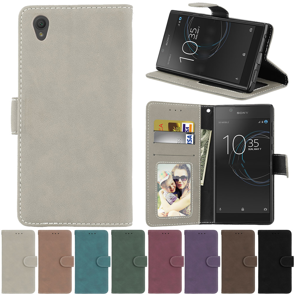 PU Leather Phone Cases For Sony Xperia L1 Sony L1 G3311 G3312 G3313 Sony Xperia E6 Dual 5.5 Inch Covers Phone Bags For Sony E6