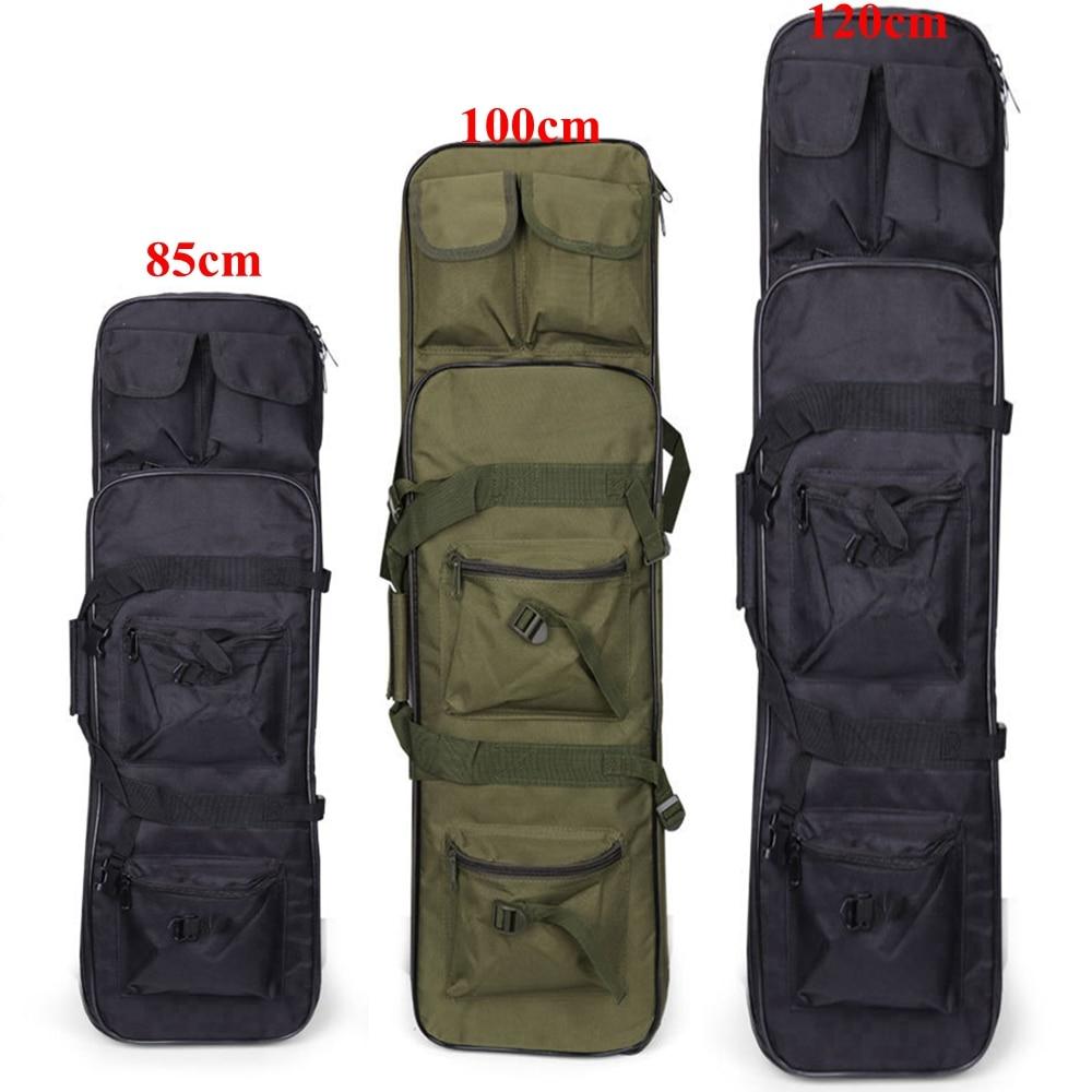купить Military Accessories85/100/120cm Hunting Backpack Airsoft Gun Bag Square Rifle Bag Black Green Color по цене 1505.82 рублей