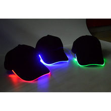 Mutifunctioanl Adults LED Light Stage Performance Flash Cap Outdoor Sports Camping Cycling Running Survival Hat Accessories(China)