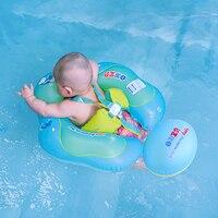 Новый детский надувной круг для плавания Младенческая подмышка плавающий детский бассейн аксессуары круг купальная надувная, двойная плот...