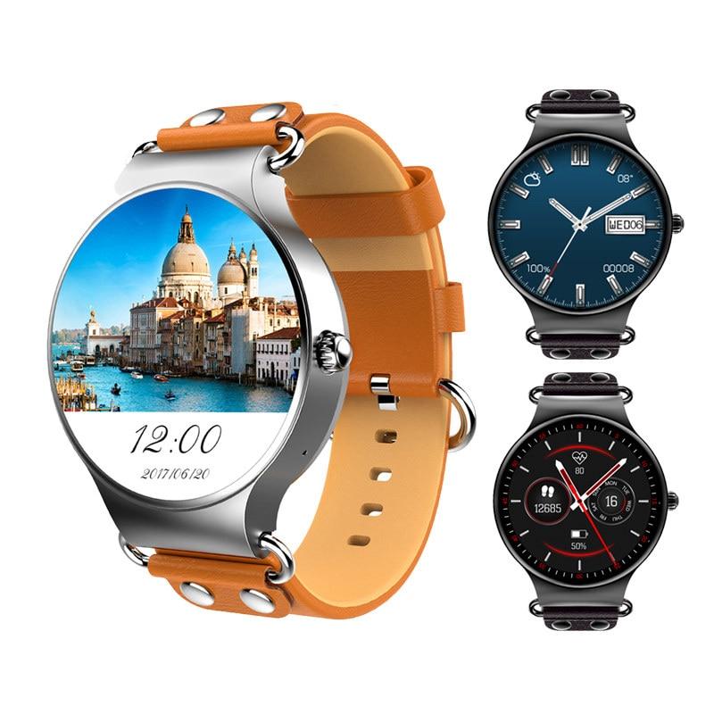 2019 KW98 Montre Intelligente Android 5.1 3G WIFI GPS Montre Smartwatch POUR iOS Android PK hommes vie Téléphone étanche montre Intelligente