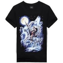 Men tshirt 2016 Fashion Brand Clothing Summer Men's Short Sleeve 3D T-shirts With Funny Print Casual Hip Hop Tees Shirts Hombre