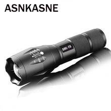100 Authentic E17 6000 Lumens 5 Mode CREE XM L T6 LED Flashlight Zoomable Focus Torch
