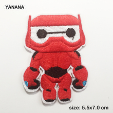 Cartoon Hero figure Iron on Embroidered Cloth Patch For Girls Boys Clothes Stickers Apparel Garment Accessories