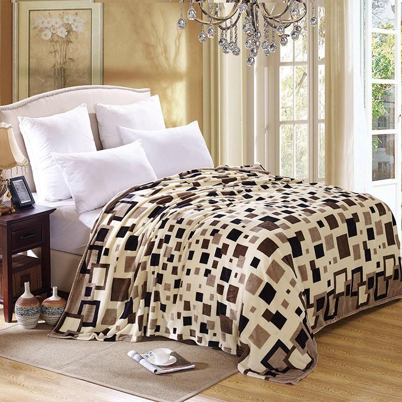 SunnyRain 1 Piece Soft Flannel Fleece Bed Blankets Large Blanket For ...