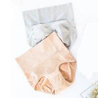 High Waist Seamless Women's Panties Slimming Lingerie Women Briefs Sexy Body Shapers Soft Cotton Ladies Underwear 2Pcs/lot Panty women's panties
