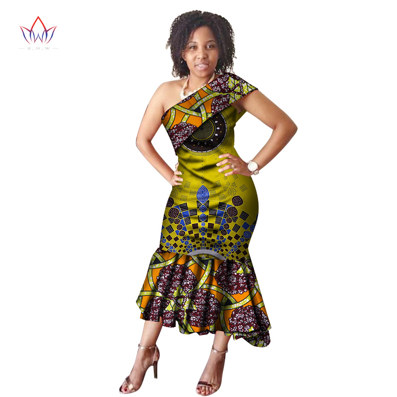 4e7e288b21bf4 summer traditional african clothing women Vintage Maxi Dress africa print  dress dashiki sleeveless part bazin riche dress WY2813
