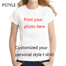 Summer Short Sleeve Women T Shirt Tops Customized tshirt O-neck Tee Pstyle Fashion Modal T-shirt Slim Fit