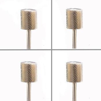 4pcs  Carbide Nail Drill Bit -Big Barrel Bit  - F