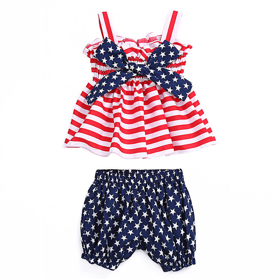 Infant Baby Toddler Girl Summer Clothes Solid Sleeveless Vest Fruit Embroidery Shirt Top Kehen