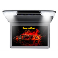 11.6'' Car 1080P High Resolution Car Roof Mount Monitor Flip down Over head Car Ceiling Wide Drop Down LCD Monitor Display HDMI
