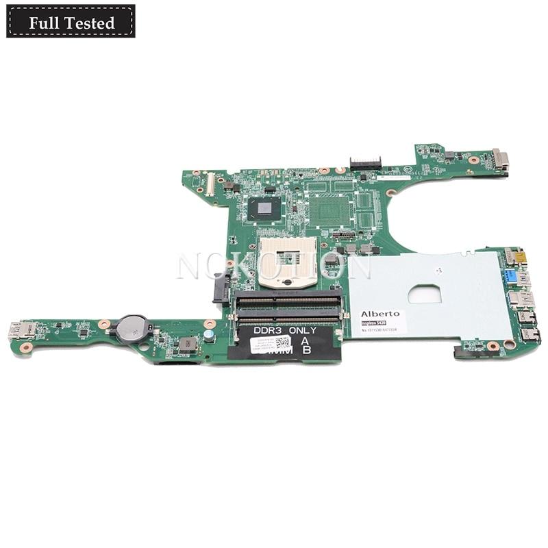NOKOTION for Dell Inspiron 14R 5420 I5420 Laptop Motherboard HM77 GMA HD DDR3 CN-0KD0CC 0KD0CC DA0R08MB6E2 main board testedNOKOTION for Dell Inspiron 14R 5420 I5420 Laptop Motherboard HM77 GMA HD DDR3 CN-0KD0CC 0KD0CC DA0R08MB6E2 main board tested