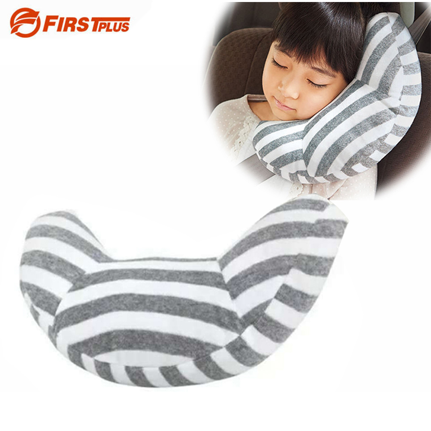 Child font b Car b font Seat Headrest Sleeping Head Support Children Nap Shoulder Belt Pad