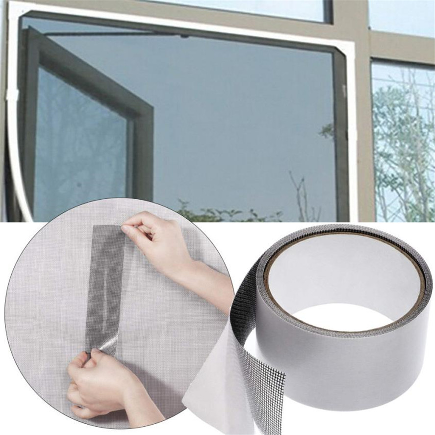 1pc Fly Screen Door Insect Repellent Repair Tape High Quality Fiberglass Waterproof Mosquito Screens Cover 38