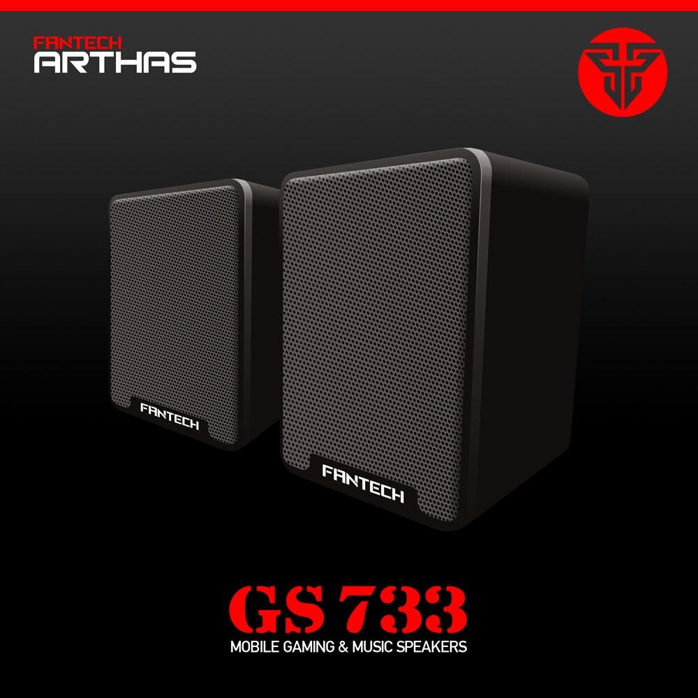 Lautsprecher Fantech Gs733 Wired Mini Tragbare Kombination Lautsprecher Laptop Desktop-computer Subwoofer Multimedia Lautsprecher Computer-lautsprecher