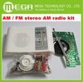 O Envio gratuito de 1 conjunto de AM/FM kit rádio estéreo AM AM/DIY CF210SP suíte produção eletrônica