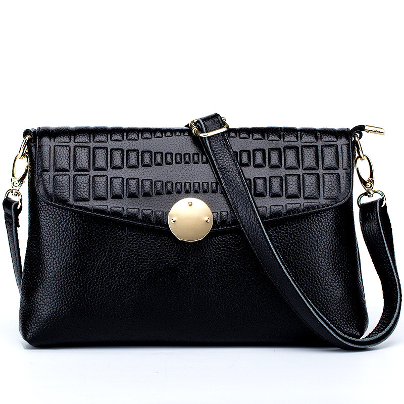 ФОТО New Arrival Genuine Leather Women Bags Crossbody Bags High Quality 4 Colors Fashion Female Shoulder Bags Zipper Coin Bags DC200