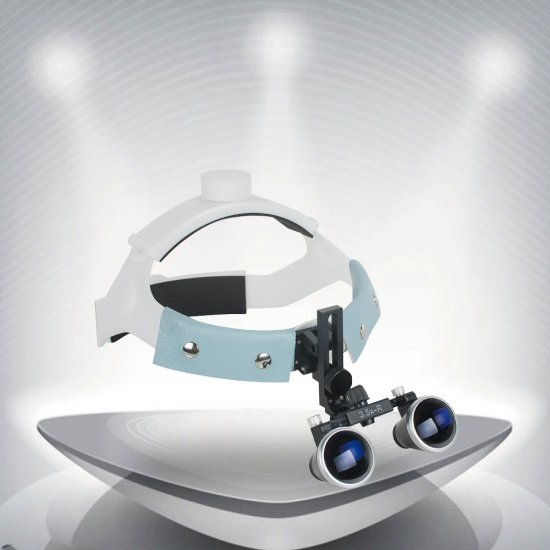 Portable Dental Surgical Medical Headband Binocular Loupes Glasses Magnifier
