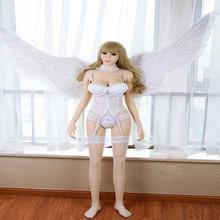 섹스 인형 158cm #44 Full TPE with Skeleton 성인 일본 사랑 인형 Vagina Lifelike Pussy 현실적인 섹시한 인형 남성용