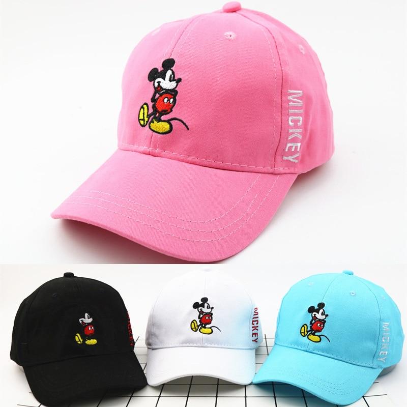 Lovely Kid Toddler Baby Summer Cartoon Breathable Caps Snapback Cap Baseball Hat