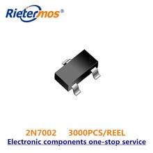 3000PCS NX7002AK SOT23 2N7002 SOT23 7002 ORIGINAL 100% new sot23 6 sot23 5 sot23 ic test socket connector programmer adapter burn in socket connector 499 p44 00 499 p44 20
