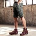AIRGRACIAS 2017 Militares Dos Homens Quentes do Verão Shorts Calças de Algodão De Multi-Bolsos Moda Casual Calças Curtas Tamanho 29-40, 6 Cores