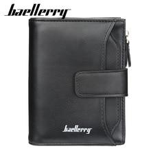 Baellerry бренд мужской кошелек карман повседневные мужские кошельки для денег зажим клатч кошелек мульти-карта бит качественный кошелек
