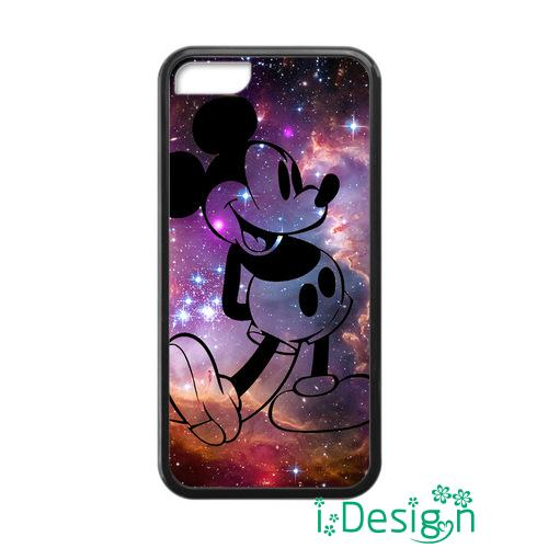 Fit for iphone 4 4s 5 5s 5c se 6 6s plus ipod touch 4/5/6 back skins cellphone case cover Mickey Mouse space