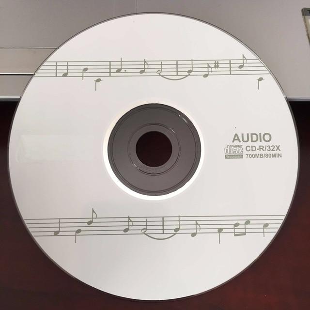 Bán buôn 10 Đĩa 100% Authentic Trống 700 mb 32X Âm Thanh CD-R Âm Nhạc Đĩa