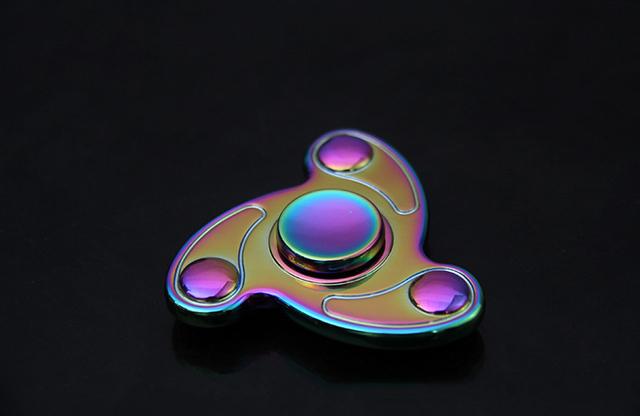Rainbow Whirl Fidget Spinner