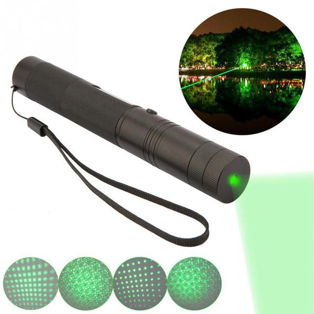 1pc Flashlight with charger green light 532nm 50MW output power Handy Powerful portable Flashlight