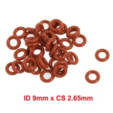 ID 9mm x CS 2.65mm silicone rubber seal ring gaskets