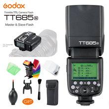 Беспроводная вспышка godox tt685n 24g hss 1/8000s i ttl gn60