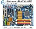 Frete grátis original motherboard para gigabyte ga-ep43-ds3l motherboard solid-state poder lga775 ddr2 ep43-ds3l p43-ds3l