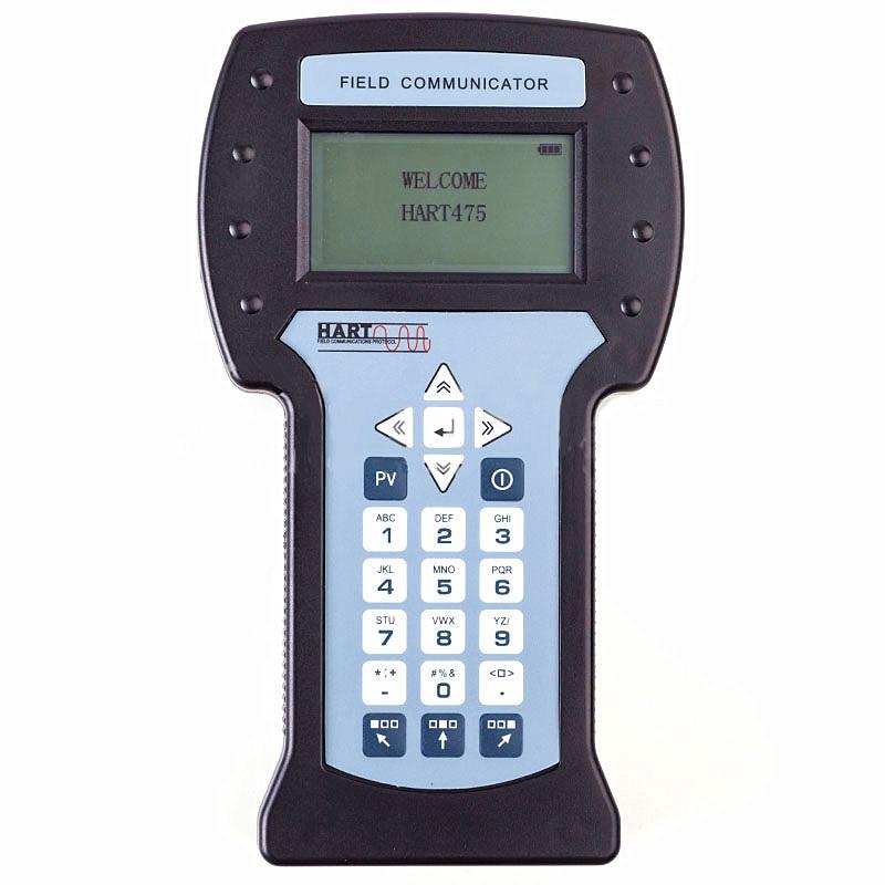 Nouveau communicateur de champ Hart de poche Hart475 avec Menu anglais pour l'étalonnage du transmetteur de température de pression