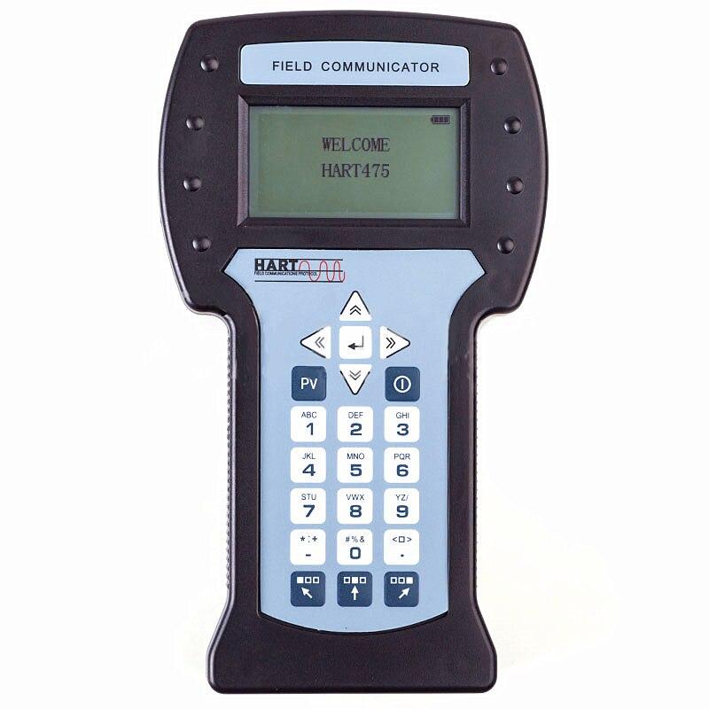 Nova Hart475 Handheld Hart Comunicador de Campo Com Inglês Menu De Calibração do Transmissor De Temperatura Pressão