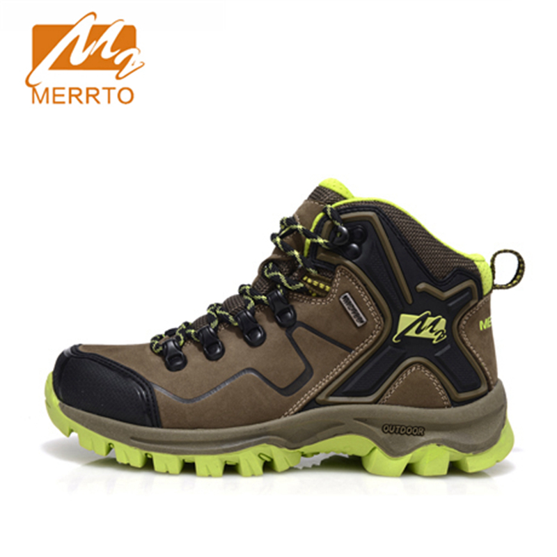 2017 Merrto Womens Hiking Boots Waterproof Windproof Outdoor Shoes Breathable Sports Shoes For Women Free Shipping MT18572 2017 merrto mens hiking boots waterproof breathable outdoor sports shoes color black khaki grey for men free shipping mt18638
