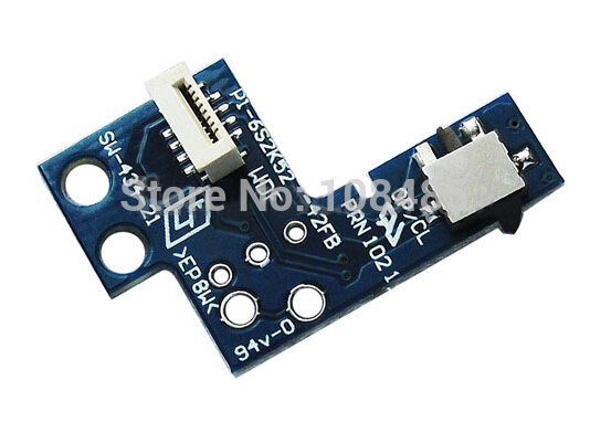 HOTHINK 2pcs/lot Repair part Reset switch power board PCB on off board for <font><b>PS2</b></font> Slim 9W <font><b>90000</b></font>(SCPH-9000X) image