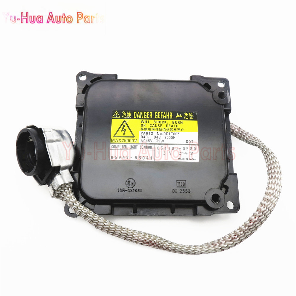 ФОТО 85967-53041 HID Xenon Ballast For Lexus IS250 IS350 IS350F Control Module Computer