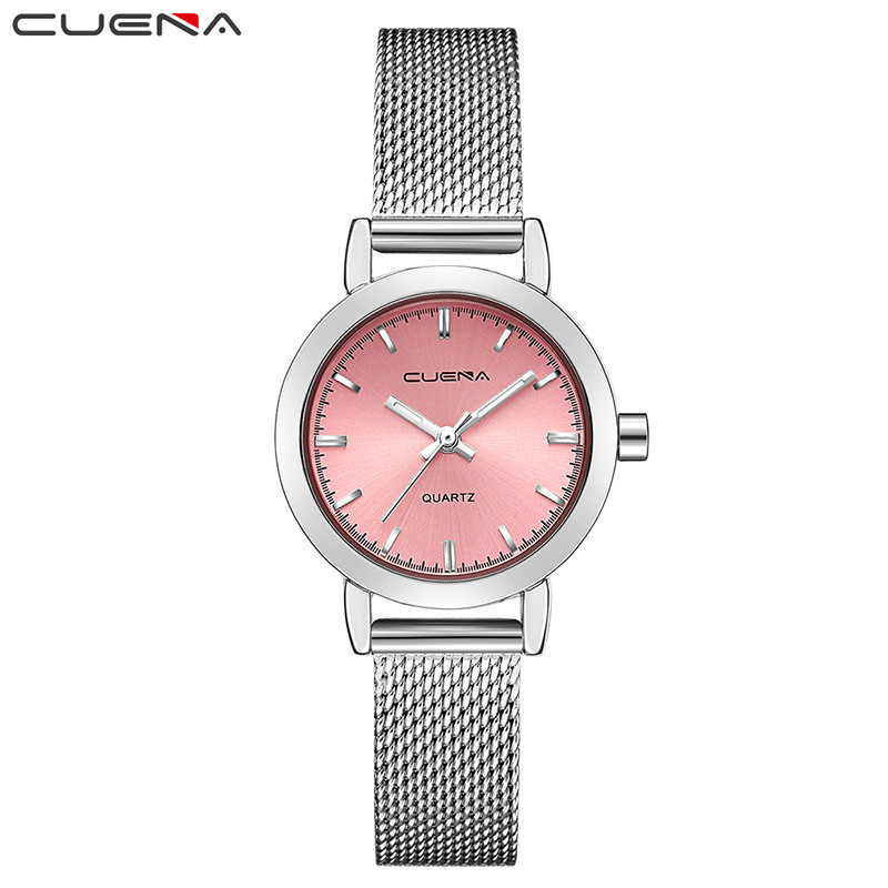 CUENA Luxury Women Quartz Watch Women's Watches Relojes Reloj Mujer Montre Femme Relogio Feminino Waterproof Ladies Clock 6627 cuena top women s watches genuine leather women quartz watch relojes reloj mujer montre femme relogio feminino ladies clock 6626