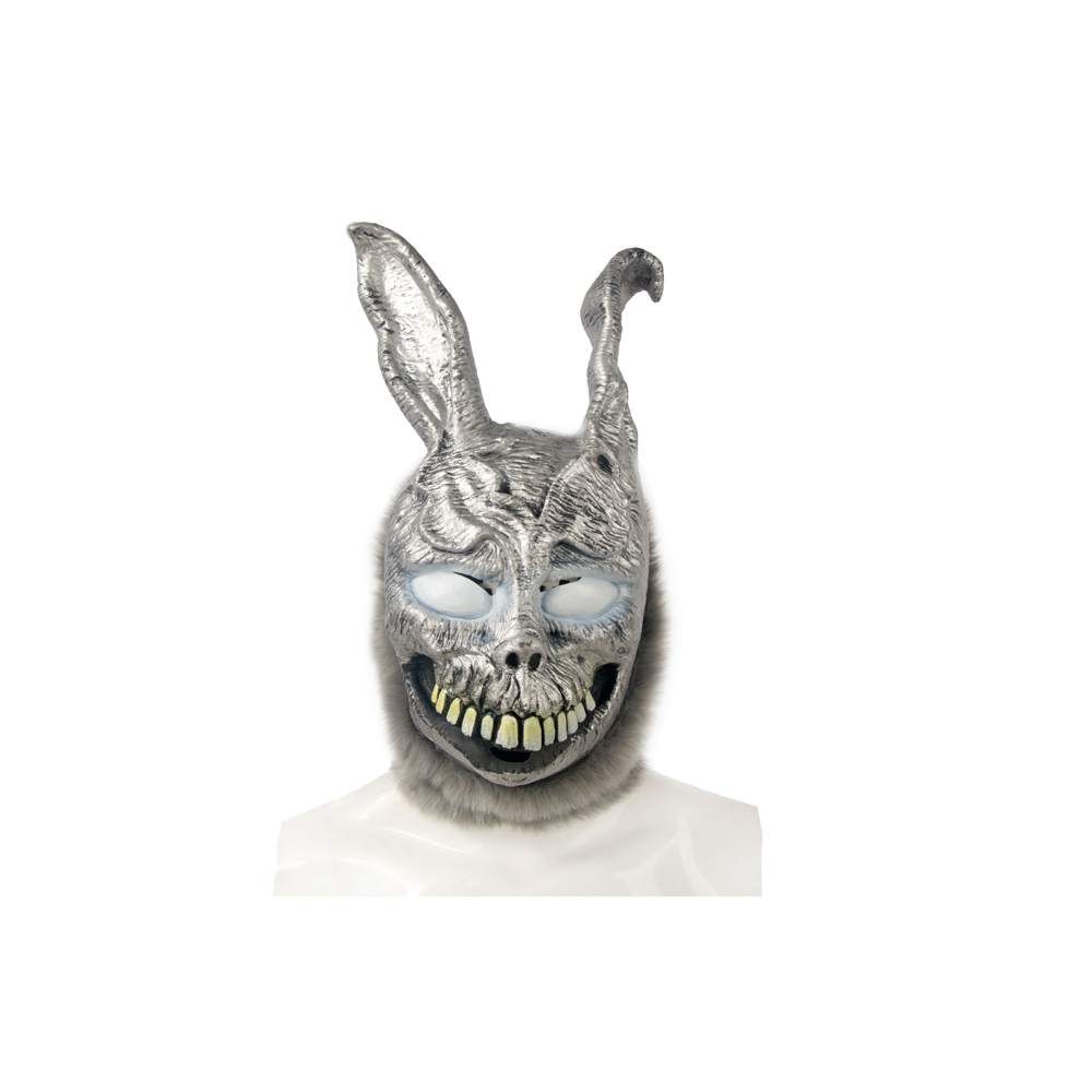 Halloween Party Cosplay Animal head Carnival Mask Scary Donnie Darko Rabbit Mask Horror Ghost Rabbit Zombie Mask One Size
